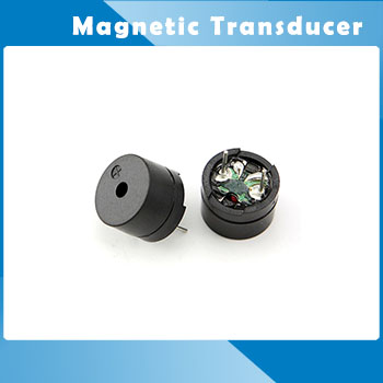 HC-12G-1P 12mm Magnetic Audio Transducer Buzzer