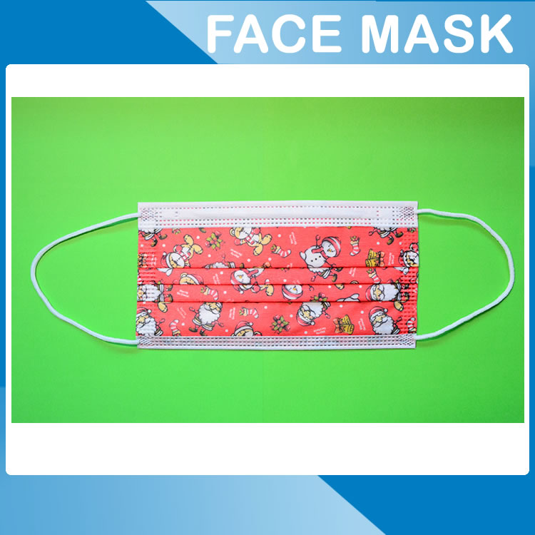 Christmas face mask 3 layer